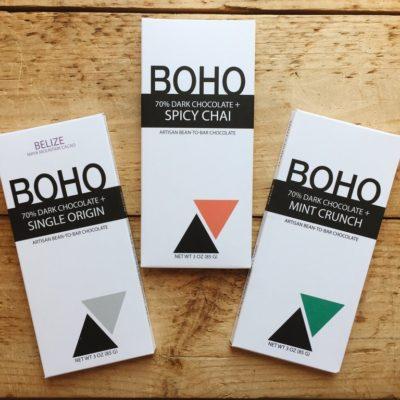BOHO Chocolates Weekend Tasting 10/05/19 – 10/06/19 11 am – 3 pm