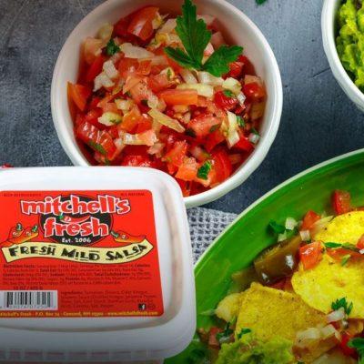 Mitchell's Fresh Salsa & Guacamole Weekend Tasting 12/28/19 – 12/29/19 11 am – 3 pm