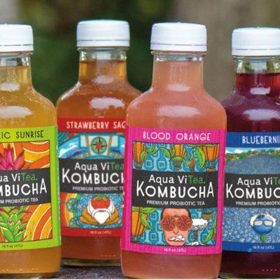 Aqua ViTea Kombucha Tasting 06/29/19 – 06/30/19 12 pm – 3 pm